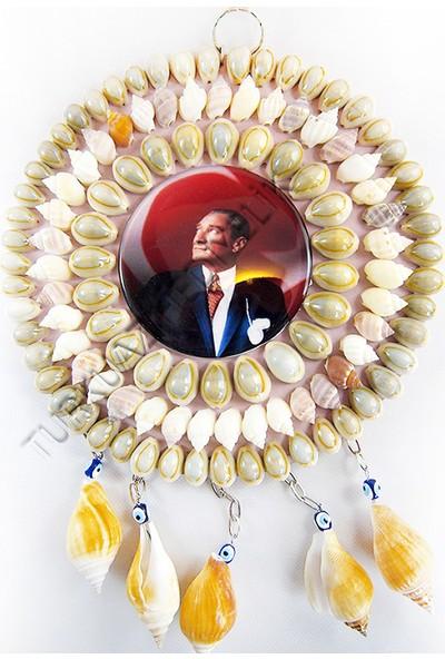 Turkuaz Hediyelik Nazarlık-Büyük-Atatürk