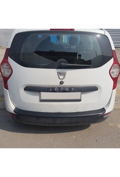 Cappcafe Dacia Lodgy Arka Tampon Eşiği Koruma 2013- Yılı ve Sonrası Mat