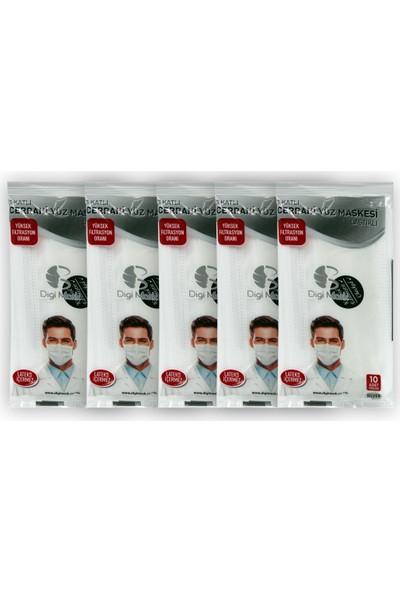 Digi Mask 3 Katlı Cerrahi Yüz Maskesi 50 Adet