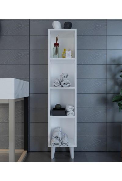 intarz Çok Amaçlı Mutfak Banyo Kitaplık Dolabı