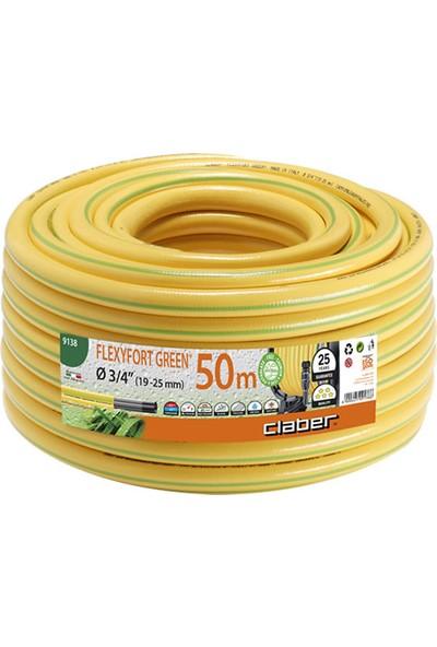 Claber 9138 Flexyfort Green Ø 3/4 Inç (19-25 Mm) M 50