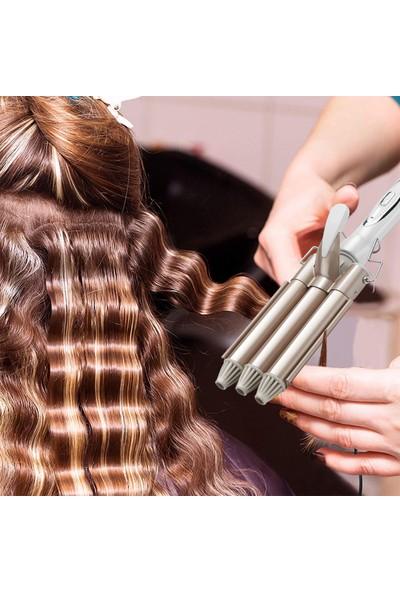 Buyfun Saç Maşası Seramik 3'lü Varil Saç Bigudi (Yurt Dışından)