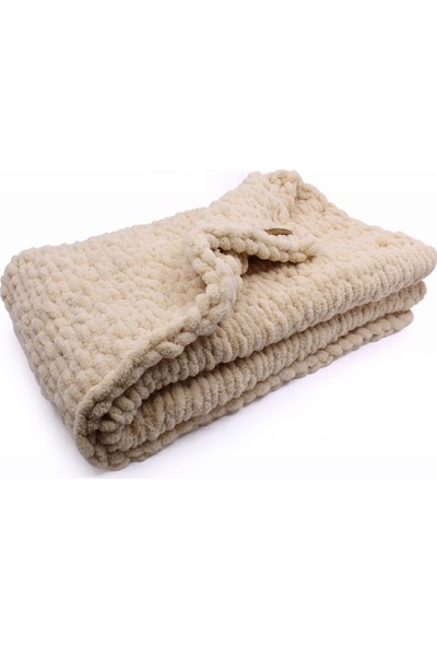 Bade Tasarım Örgü Bebek Battaniye