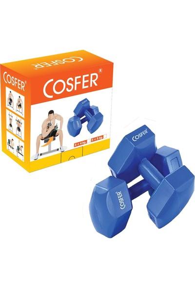 Cosfer CSF90832X2 2 kg x 2 Adet Plastik (Cement) Dambıl