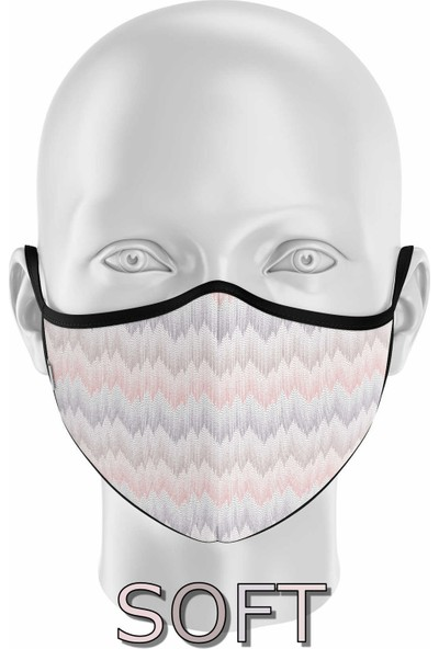 İpeks Gümüş Iyonlu Yıkanabilir Maske - Soft