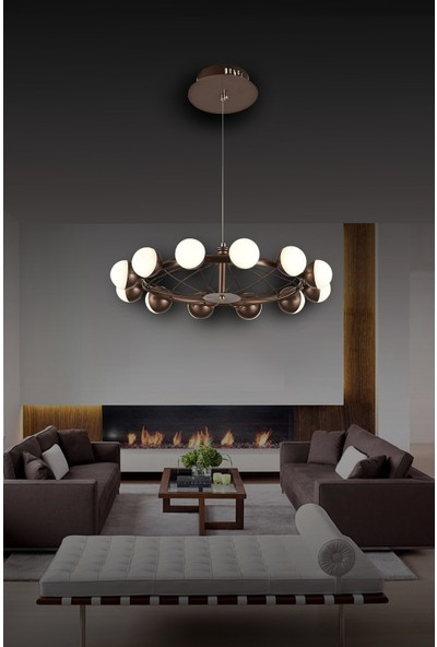 Luna Lighting Modern Luxury Sarkıt 12'li LED Avize