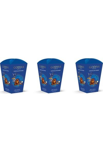 Godiva Sütlü Çikolata Kaplı Çıtır Fındıklı Krokant 123 gr x 3