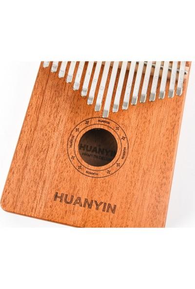 Huanyin HKM17N Deluxe 17 Tuşlu Kalimba - Türkçe Kullanım Kılavuzu