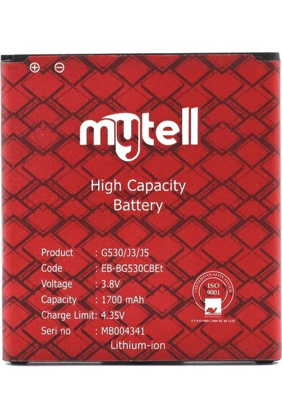mytell Samsung Galaxy Grand Prime G530 Batarya