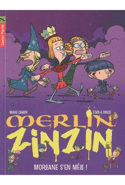 Merlin Zinzin 5: Morgane S'En Mele! - Marc Cantin