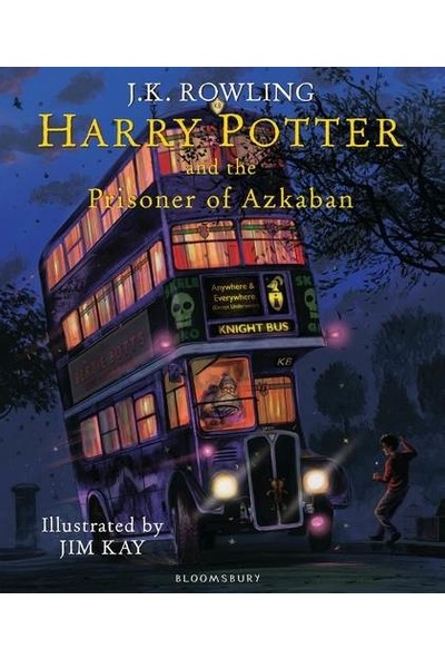 Harry Potter And The Prisoner Of Azkaban (Illustrated Ed.) - J.K. Rowling, Jim Kay