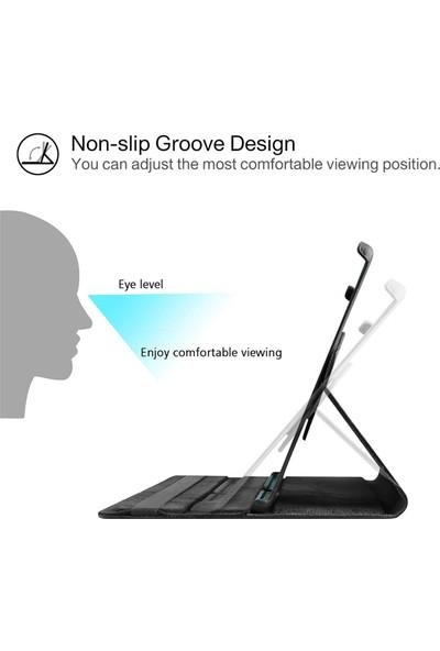 BizimGross Samsung Galaxy Tab A7 2020 T500 T505 T507 10.4 Inç Standlı 360 Derece Dönebilen Tablet Kılıf