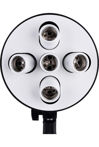 Auvc Fotoğraf Video Stüdyosu Softbox İçin 5 In 1 E27 Baz (Yurt Dışından)