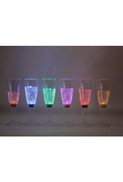 Aromabul LED Işıklı Plastik Bardak 6 Adet