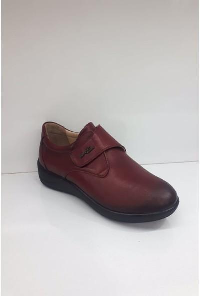 Forex 505-2 Bayan Deri Günlük Comfort Ayakkabı