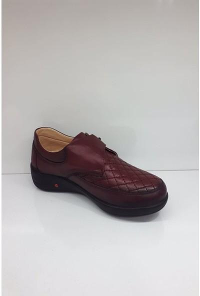 Forex 201-2 Bayan Deri Günlük Comfort Ayakkabı