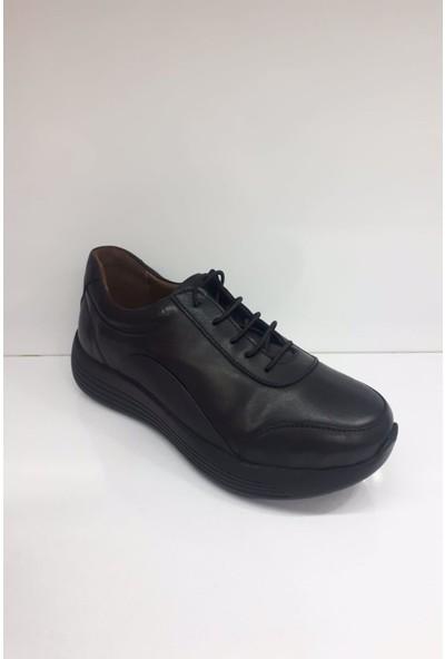 Forex 01032 Bayan Deri Günlük Comfort Ayakkabı