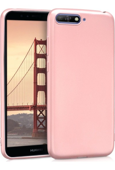 Pars Huawei Mate 10 Lite Rose Gold Silikon Kılıf