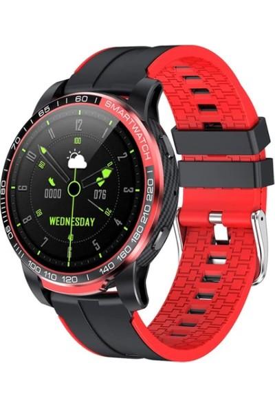 Yukka GW20 Kırmızı Sport Bluetooth Akıllı Bileklik (Yurt Dışından)