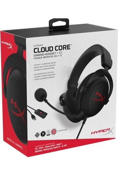 Hyperx Cloud Core 7.1 Oyuncu Kulaklığı HX-HSCC-2-BK/WW