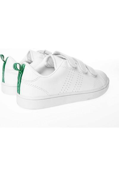 Cool Kız Çocuk Spor Ayakkabı 19K25 Filet Beyaz 31-35