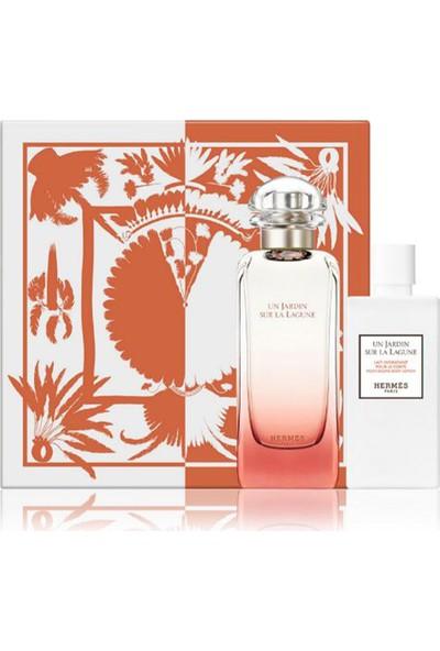 Hermes Un Jardin Sur La Lagune Edt 100 ml + Body Lotion 80 ml