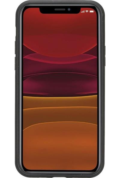 Burkley Fxc Deri Telefon Kılıfı Iphone 11 Tn1 Siyah Rfıd Özellikli