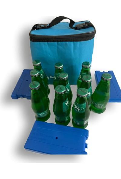 Soğutucu Kamp Piknik Çantası Termos Soğuk Tutucu Çanta 10 Litre