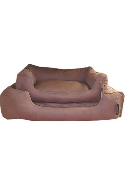 Bedspet İç Mekan Köpek Yatağı 100 x 80 cm Gül Kurusu