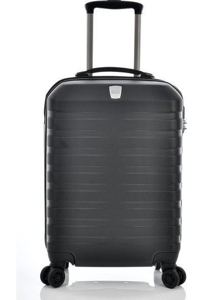 Ehs 1EH10601 Unisex 4 Tekerlekli Kabin Boy Valiz Siyah