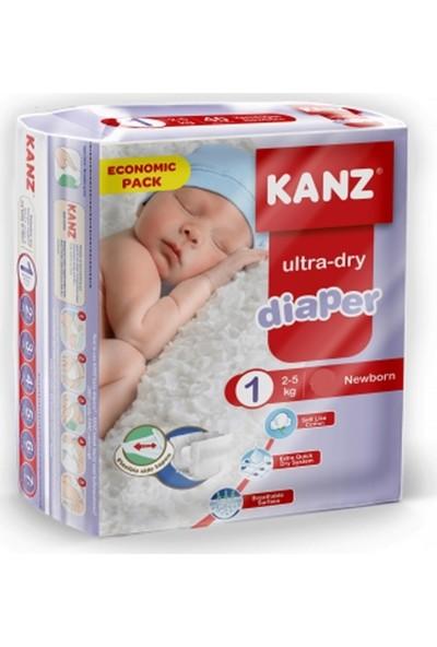 Kanz 1 Numara Bebek Bezi 2-5 kg Yenidoğan 40 Adet