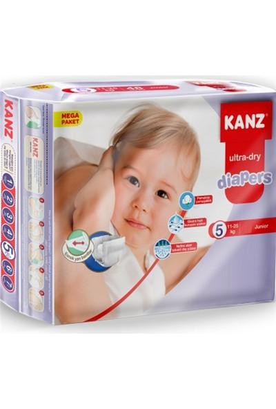 Kanz 5 Numara Bebek Bezi 11-25 kg Junior 72 Adet