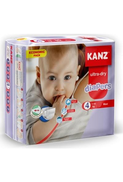 Kanz 4 Numara Bebek Bezi 7-18 kg Maxi 90 Adet