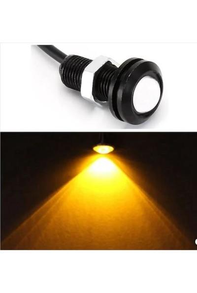 Taled Kartal Gözü Oto Ayna Altı LED Gündüz Farı 2'li Set