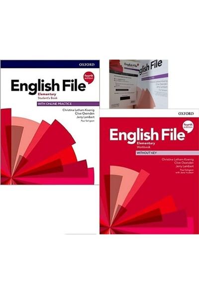 Oxford University Press English File Elementary Student's Book With Online Practice + Workbook Without Key