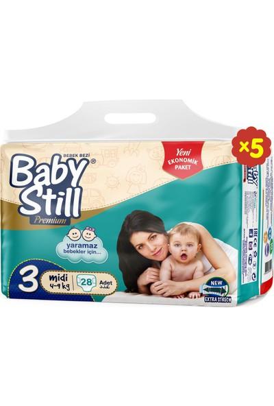 Baby Still Bebek Bezi 3 Beden 5'li Fırsat Paket - 140'LI