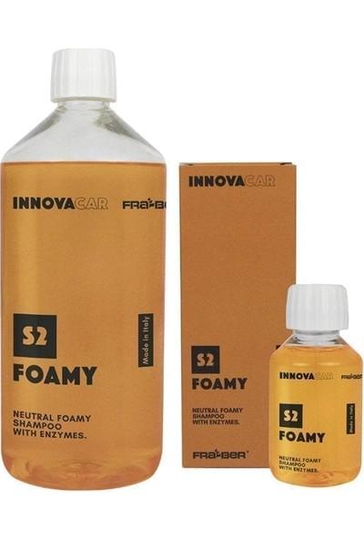 Fra-Ber Innovacar S2 Foamy - Enzim Bazlı Yıkama Köpüğü 1lt