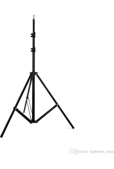 Cazip Shop Video Softbox Sabit Işık Seti Sürekli Işık 50X70 LED Işık 200 cm Ayak 2'li Set