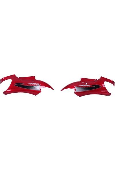 Falcon Arka Karenaj Sağ Sol Kırmızı Takım-Angel 250 (250 W)
