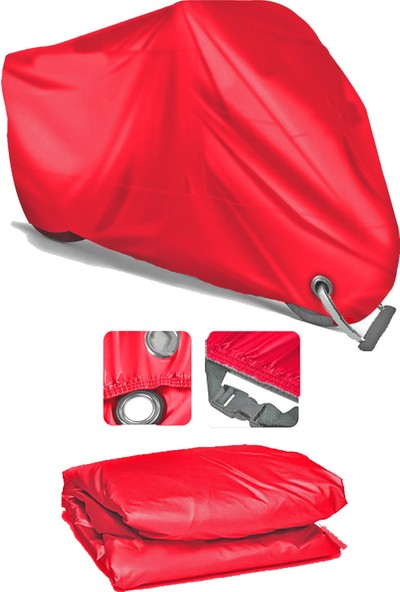 Coverplus Ktm 390 Duke Motosiklet Brandası Motor Branda - Kırmızı
