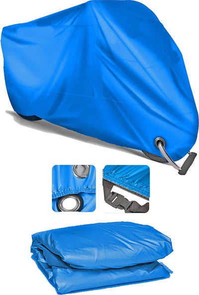 Coverplus Yamaha SCR950 Motosiklet Brandası Motor Branda - Mavi