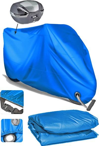 Coverplus Bmw S 1000 Rr Motosiklet Brandası Arka Çanta Uyumlu - Mavi