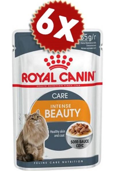 Royal Canin Intense Beauty Gravy Kedi Konserve 85 gr x 6 Adet