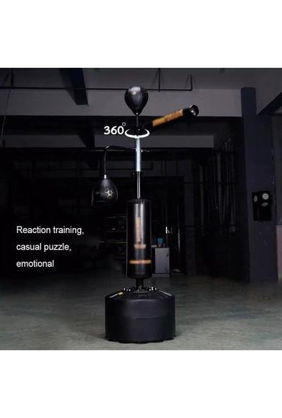 Leyaton Boks Hedef Rotasyon Hız Topu Boks Kapsamlı Döner Çubuk Hedefi 1.60 cm -200 cm Yükseklik