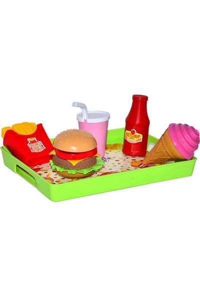 Oyuncakavm Hamburger ve Tatlı Tepsisi