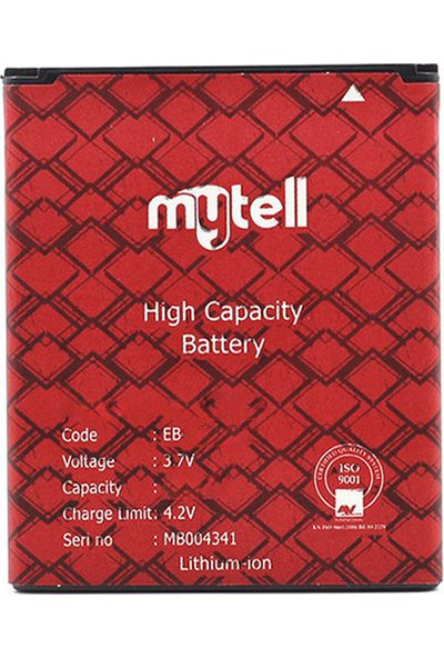 mytell Samsung Galaxy S3 I9300 Batarya