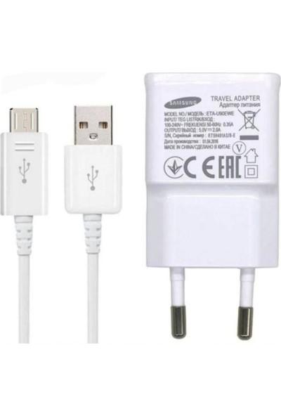 Samsung Note 4 Şarj Aleti Micro USB Data Kablo + Adaptör