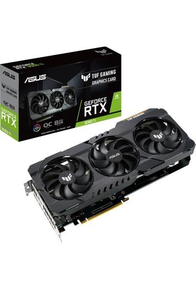 Asus GeForce TUF RTX 3060Ti 8GB OC 256Bit GDDR6 (DX12) PCI-Express 4.0 Ekran Kartı (TUF-RTX3060TI-O8G-GAMING)