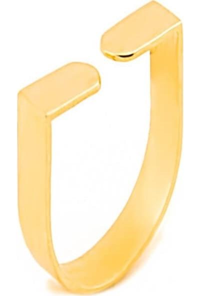 Dal Kuyumculuk 14 Ayar Altın Modern Tasarım Yüzük Modeli