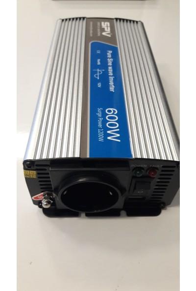 Spv 600 Watt 12V Tam Sinüs Inverter